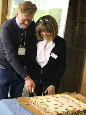 AGM 2019 Cake Cutting Celebration for MapleCross' first Nature Reserve!