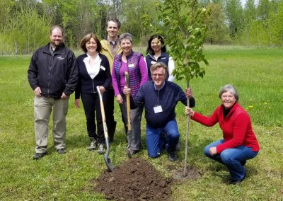 AGM 2019 Tree Planting our new Legacy Grove
